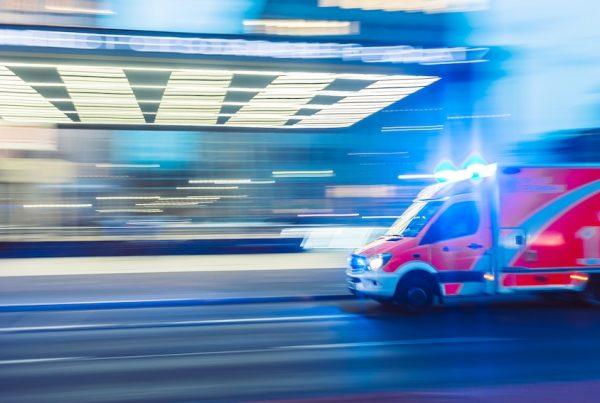 Llamada de emergencia en coche