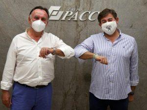 Firma del acuerdo entre GRUPO PACC y el Córdoba Club de Fútbol