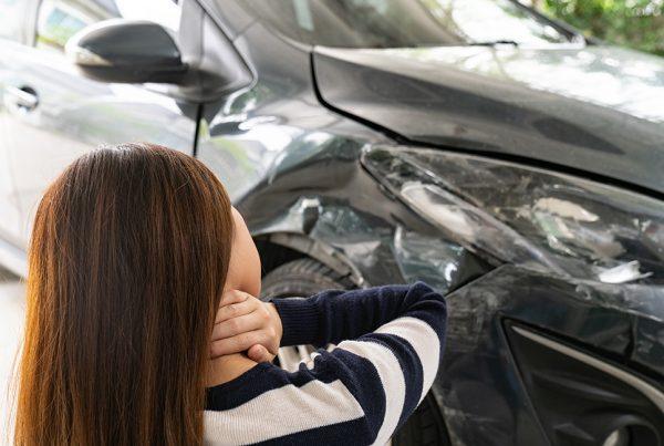 lesión por accidente de tráfico